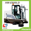 Auto Discharging Electric Street Road Sweeper
