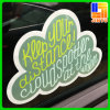 Die-Cut Static Window Decal PVC Vinyl Car Window Sticker