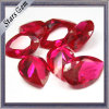 Pear Shape 3X4mm Brilliant Sparkles #5 Vivid Red Lab Ruby