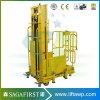3m to 4.5m Mobile Semi Electric Hydraulic Order Picker Truck Machine
