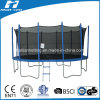 15FT Big Trampoline, Outdoor Trampoline with Safety Net (HT-TP15)