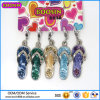 High Quality Fashionable Rhinestone Jewelry Flip Flops Pendant