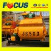 Construction Equipment Factory Supply Js500 Double Shaft Concrete Mixer