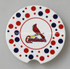 Customize Logo Ceramic Coaster Round Shape with Cork Back