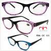 Ladies Plastic Reading Glasses with Cobweb Pattern (WRP508329)