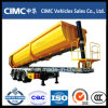 Cimc 3-Axle 30~35m3 Tipping Tipper Dump Semi Trailer with Lowest Price