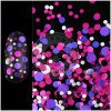 Cosmetic Nail Salon Decor Glitter Poly Sequins Flakes