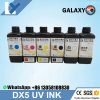 Wholesales Printhead UV Ink 5 Color C, M, Y, K, W 1000ml Galaxy UV Ink for Dx5 Printhead Made in Japan