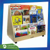 Custom Made Rotary 5-Tirer Wooden Display Rack for Books, Book Display Stand, Pop Bookshelf