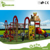 Large Outdoor Wooden City Castle Playground for Outdoor Playground