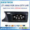 Wince6.0 System Car DVD Player for Honda City Lhr 2014