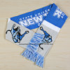 OEM Custom Jacquard Knitted Woven Football Team Acrylic Scarf Manufacturer