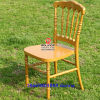 Wholesale Hotel Resin Gold Napoleon Chair