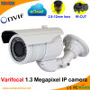 Varifocal IR 1.3 Megapixel Onvif P2p Network IP Camera(2.8-12mm