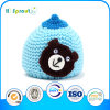 Blue Bear Knitted Winter Hat for Unisex Babies