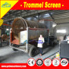 High Quality Heavy Duty 300 T/H Alluvial Gold Mining Machine, Mobile Gold Mining Equipment