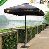 2mx2m Black Aluminium Patio Garden Umbrella for Australia Market (PU-2020A)