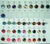Crystal Glass Garment Ornament Beads (1051)