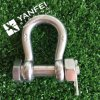 Stainless Steel Anchor Shackle with Hex Head Pin