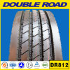 Double Road Low Price Best Selling Heavy Truck Tire 11r22.5 11r24.5 Open Shoulder Trailer Tire