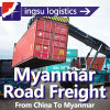 Myanmar Road Freight, Yangon Road Transportation, Mandalay Road Logistics