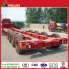 3-4axles 60-90tons Tank Lowboy Low Bed Truck Semi Trailer