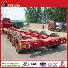 3-4axles 60-90tons Tank Lowboy Low Bed Truck Semi Trailer