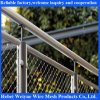 Stainless Steel Suspension Bridge Railing with Stainless Steel Rope Netting
