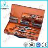 42PCS Tap and Die Set with Twist Drill Bit