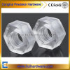 Polycarbonate Clear Type Hex Nylon Nut