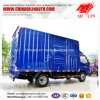 4X2 Van Dimension 4000mm Length Box Cargo Truck