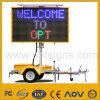 Optraffic Solar Power Portable Variable LED Display Traffic Vms Trailer
