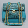 New Coming PU Leather Woman Metal Chain Shoulder Bag (XD140419)