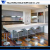 New Design High Gloss Artificial Stone Kitchen Counter, Kitchen Table, Kitchen Furniture Design