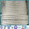 3/4-Strand Mooring Rope PP Rope PE Rope Nylon Rope