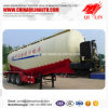 Qilin Tri-Axle 50cbm Grain Powder Transport Utility Tanker Truck Semi Trailer