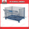 Industrial Stackable Storage Cage Wire Mesh Containers