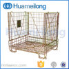 Warehouse Metal Folding Collapsible Wire Cage