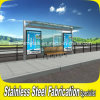 Customized Outdoor Stainless Steel Bus Shelter Design and Fabrication