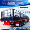 High Quality 3 Axle 45 Tons Livestock Transport Fence Stake Store House Bar Semi Trailer (LAT9404CLXY)