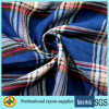 Plaid Printed Viscose Fabric Light Weight for Women Apparel