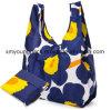 Custom Printed Nylon Reusable Folding Shopping Tote Bags