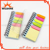 Spiral Polypropylene Cover Memo Pad with PP Ruler (SP317)