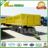 20FT Cargo Sidewall Detachable Truck Towing Full Drawbar Trailer