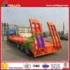 3 Axles 60tons Drop Deck Gooseneck Semi Truck Trailer Cimc Lowbed