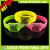 Custom Qr Silicone Bracelet Rubber Wristband with Printed (TH-band035)