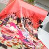 Fashion Silk Scarf with Digital Printing