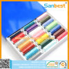 Colorful Spun Polyester Sewing Thread on Small Reels