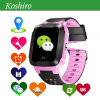 2017 New GPS Tracker Sos Smart Kid Watch with Flashlight