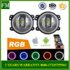 4 Inch 30W RGB Angel Eyes Fog Light for Jeep Wrangler 2007+